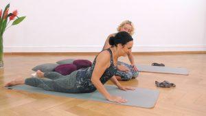 Yoga Anfänger Kobra