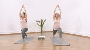Yoga Anfänger Kriegerposition