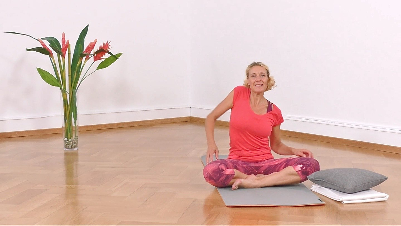 Yoga Anfänger Schultermobilisation